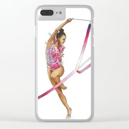 A better me is coming Clear iPhone Case