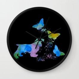 Cocker Spaniel Art Wall Clock