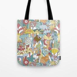Pepperland Allover Tote Bag