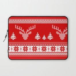 Winter pattern Laptop Sleeve