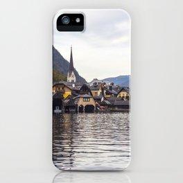 Hallstatt lake  iPhone Case