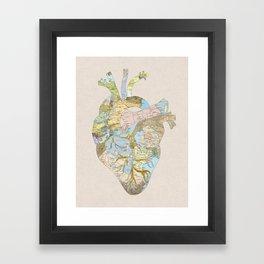A Traveler's Heart (N.T) Framed Art Print