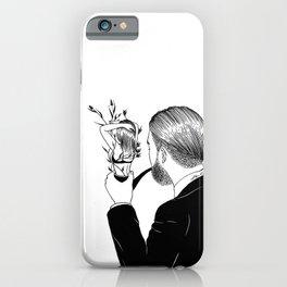 Man In Love iPhone Case