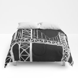 No. 59 Brooklyn Bridge  Comforters