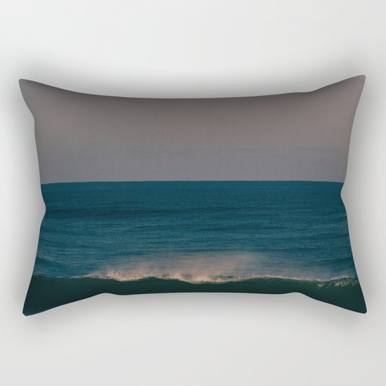 Winter Wave Rectangular Pillow