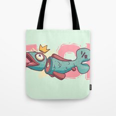 Chopped Up Tote Bag