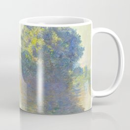 The Seine at Giverny Claude Monet 1897 Impressionist Oil Painting Nature Trees Lake Landscape Coffee Mug