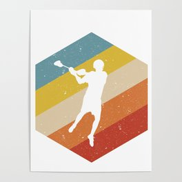 Lacrosse Player Posters | Society6