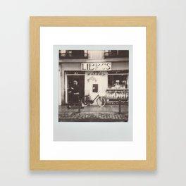 Libros Framed Art Print