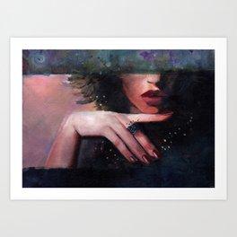 roxane Art Print