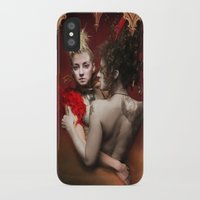 nan lawson iPhone & iPod Cases featuring HVH Nan by House Van Helsing