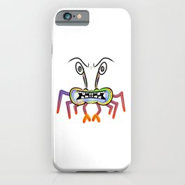 Alien Crab Monster iPhone Case