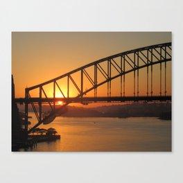 Sydney's Beauty Canvas Print