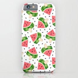 Watermelon Ice cream iPhone Case
