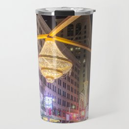 Cleveland Playhouse Chandelier Travel Mug