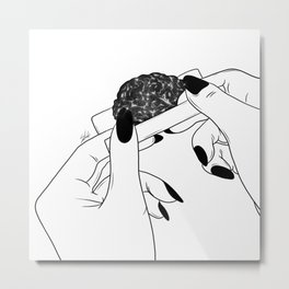 Rolling your mind (G) Metal Print