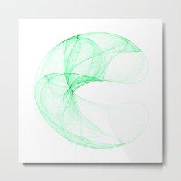 Green attractor Metal Print
