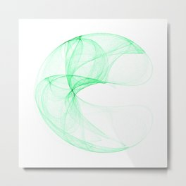 Green attractor Metal Print