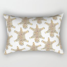 Tiger Queen of Ranthambore, Wall Art Rectangular Pillow