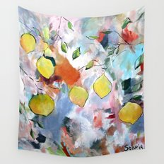 When Life Gives You Lemons, Paint Them Wall Tapestry