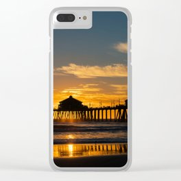 Sunset Behind Ruby's Clear iPhone Case