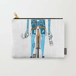 Modern Cyclist #2 Carry-All Pouch
