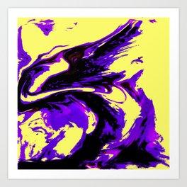 Fluid Abstract 25 Art Print