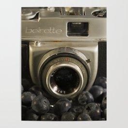 Blueberry Beirette Poster