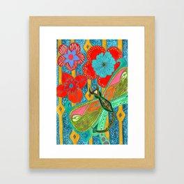 Stabberfly Framed Art Print