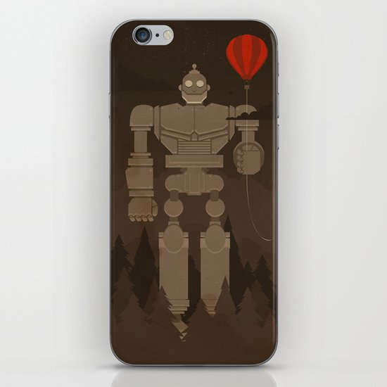 The Robot and The Balloon iPhone & iPod Skin