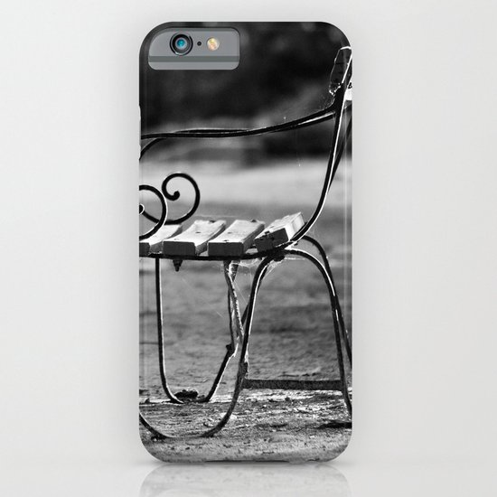 Solitary Park Bench iPhone & iPod Case