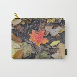 Colorful Maple Leaf Carry-All Pouch