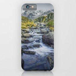 Snowdonia Mountains iPhone Case