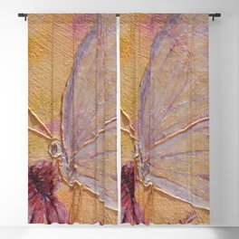 Little mirror butterfly | Petit Miroir papillon Blackout Curtain
