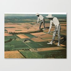 Our Crop Is Farms Canvas Print