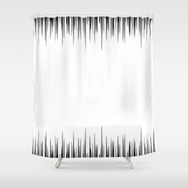 Raising the frequency Shower Curtain