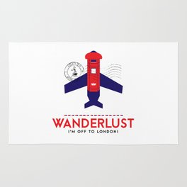 Royal Travel - London Wanderlust Rug