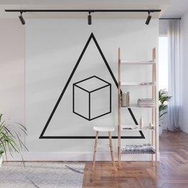 Delta Cubes Wall Mural