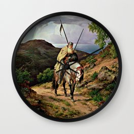The Return of the Crusader Wall Clock
