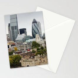 London ... city view I Stationery Cards