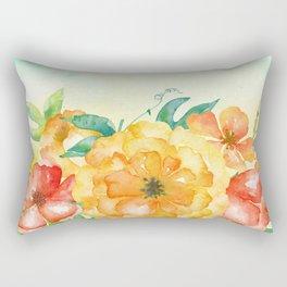 Flowers bouquet #65 Rectangular Pillow