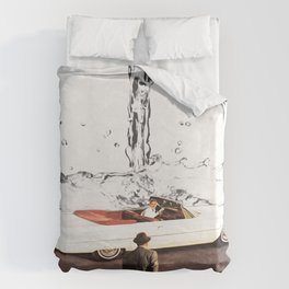 Drive It All Over Me Duvet Cover