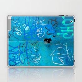 Urban Blue Style Street Graffiti Laptop & iPad Skin