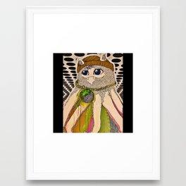 squidcat  Framed Art Print