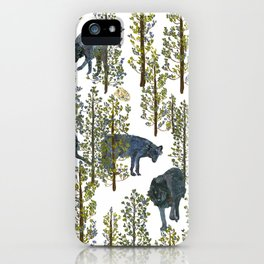 I see you lurking at me! iPhone Case