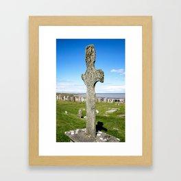 Kilnave Cross Framed Art Print