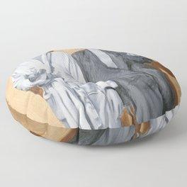 Post Modern Intimacy I Floor Pillow