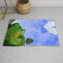 Mother Nature Smiling Rug