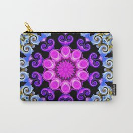 Colorful Oriental Mandala Carry-All Pouch