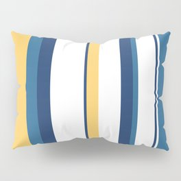 Vintage 1950s stripes Pillow Sham
